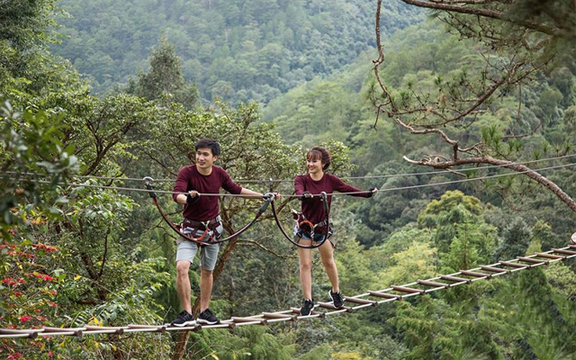 Các trò chơi hấp dẫn tại khu du lịch thác Datanla